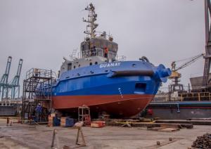 AgroRural presenta nuevo remolcador de cabotaje 'Guanay' para mejorar transporte del guano de las islas