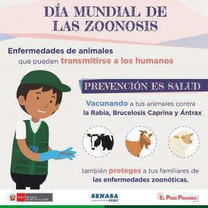 """Al proteger la sanidad animal protegemos la salud humana"""