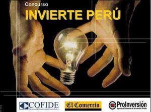 AÚN NO HAY NOTICIAS DEL CONCURSO NACIONAL INVIERTE PERÚ 2008