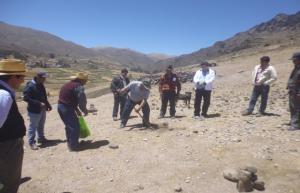 Ayacucho: inician construcción de reservorio nocturno en Quiñasi