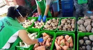 Banco de Alimentos del Perú ha recaudado 1.496 toneladas de alimentos durante el estado de emergencia