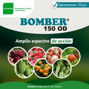 BOMBER 150 OD, control contundente sobre amplia gama de insectos picadores chupadores