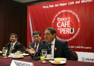 CAFÉ PERUANO NECESITA ESTAR EN LA AGENDA NACIONAL