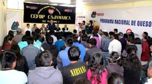 CAJAMARCA: INAUGURAN PRIMER CENTRO DE CAPACITACIÓN  PARA ELABORACIÓN DE QUESOS MADURADOS