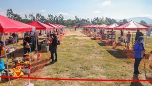 Cajamarca: Produce destina más de S/ 200 mil en implementación de dos mercados temporales