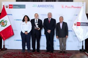 Campo Limpio Perú es reconocido con el Premio Nacional Ambiental Antonio Brack 2018