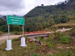 Carretera La Jalca-Nueva Esperanza mejorará tránsito y comercio agrícola en Amazonas