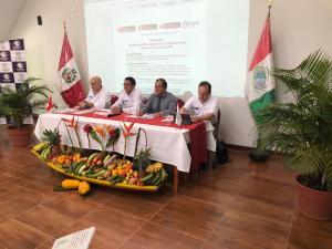 Compromiso del Minagri es apoyar la agricultura familiar en la selva