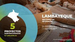 Concytec financia cinco proyectos de gran importancia económica y social para Lambayeque