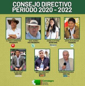Conveagro eligió nuevo consejo directivo para el periodo 2020-2022