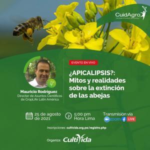 """Cultivida realizará webinar """"Apicalipsis: Mitos y realidades sobre la extinción de las abejas"""""""