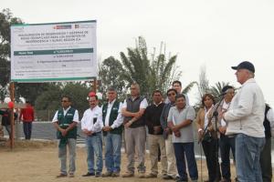 Del 2015 a la fecha se han construido más de 40 reservorios de agua en Ica