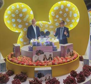 Dulces con arándanos peruanos llegan a Disneyland Shanghái
