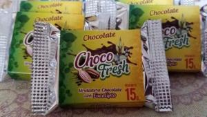 """Empresa huanuqueña lanza """"Choco Fresh"""", un delicioso chocolate artesanal que combina cacao y eucalipto"""