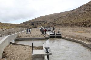 Entregan en Tacna bocatoma que dotará de agua a más de 3.600 hectáreas de cultivos