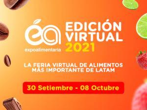 Expoalimentaria virtual 2021 seguirá posicionando la oferta peruana en el mundo