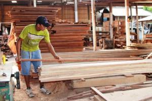 Exportaciones peruanas de madera disminuyeron 6.2% el 2017