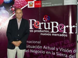 Fallece pionero en la promoción de arándanos en Perú