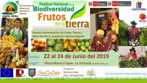 Festival Nacional de la Agrobiodiversidad presentará diversidad de productos de la agricultura familiar con certificación SGP