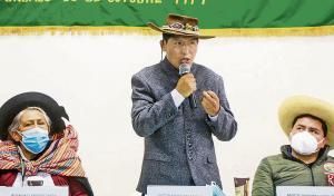 Gobierno dará categoría de Ciudadanos del Campo a los Pueblos Indígenas