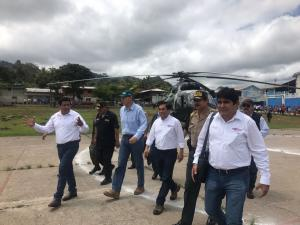 Gobierno inició obras de proyecto de irrigación Amojao para convertir a la selva en potencia agroexportadora