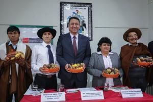 Huánuco: exhibirán más de 600 variedades de papas nativas en feria de la agrobiodiversidad