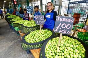 Índice de precios de alimentos y bebidas al consumidor de Lima Metropolitana subió 1.11% en marzo de este año
