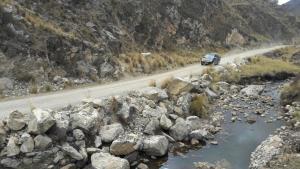 Inician los trabajos para el mejoramiento de la carretera que conecta Jauja y Tarma