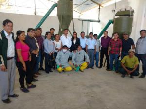 Instalan planta agroindustrial de tara en Huánuco
