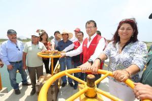 Invertirán S/ 180 millones en obras de rehabilitación de infraestructura de riego el 2020