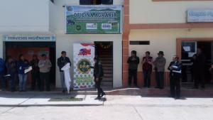 Junín: abren oficina agraria en Carhuacayán