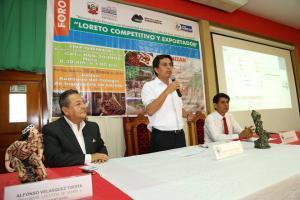 Loreto buscará despegue de su economía con industrialización de productos nativos