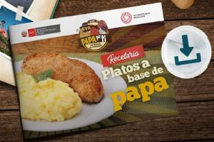Midagri lanzó recetario de platillos a base de papa