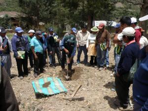 Minagri capacita a productores de maíz en cuidado de suelos agrícolas
