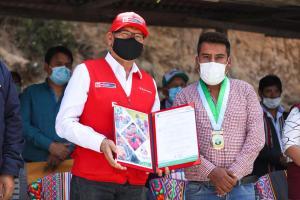 Minagri inaugura qochas para potenciar la pequeña agricultura