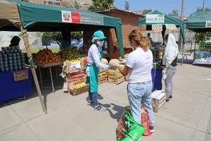 Minagri: Se instalarán 1.000 mercados itinerantes más hasta diciembre de este año