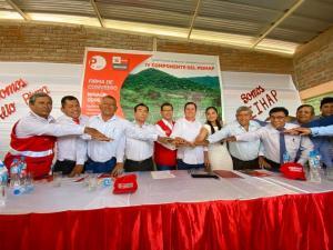Minagri y Gore Piura firman convenio para impulsar infraestructura hidráulica de proyecto Alto Piura