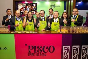 Mincetur lanza marca 'Pisco Spirit of Perú'