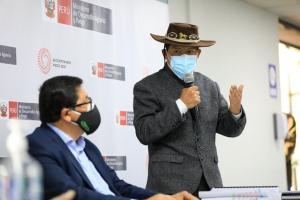 """Ministro Víctor Maita: """"En segunda reforma agraria, los campesinos se convertirán en proveedores del Estado"""""""