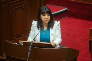 """Mirtha Vásquez: """"Segunda Reforma Agraria implica también una reforma del Estado y de la forma de gobernar para el Perú rural"""""""