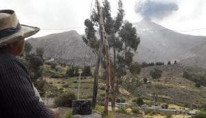 Moquegua: brigada del Minagri evalúa zonas afectadas por erupción del volcán Ubinas