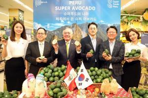 Palta peruana llega a cadena de supermercados más grande de Corea del Sur
