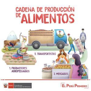 PCM destaca labor de agricultores, transportistas y comerciantes