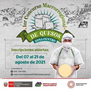 Perú busca su mejor queso 2021
