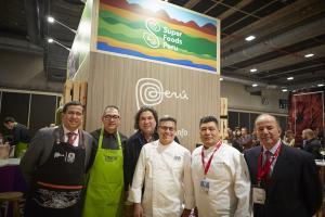 Perú posiciona productos exportables en cumbre gastronómica más importante de Europa