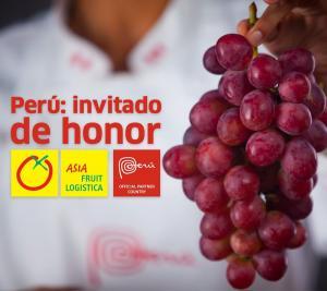 Por segunda vez consecutiva Perú será País Invitado de Honor en Asia Fruit Logistica ON