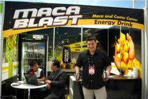 PRESENTAN PRIMERA BEBIDA ENERGIZANTE ORGÁNICA DE MACA CON CAMU CAMU