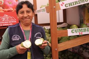 Producción de chirimoya incrementó en 55%