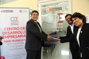 Produce inauguró Centro de Desarrollo Empresarial en Huancayo dirigido a MIPYME