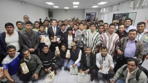 Productores del Vraem firmaron convenios para mejorar su producción de cacao y café